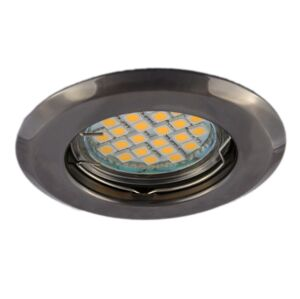 PREMIUMLUX Podhledové bodové svítidlo ALFA grafit + patice, LUX01228